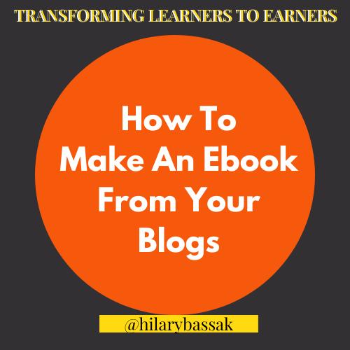 Blog Ebook